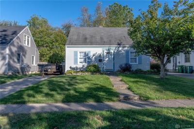 Kettering Single Family Home Pending/Show for Backup: 1918 Bataan Drive