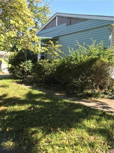 Springfield OH Single Family Home For Sale: $17,000