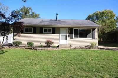 Dayton Single Family Home For Sale: 3400 Harwood Street