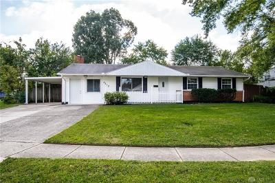 Huber Heights Single Family Home For Sale: 4512 Nowak Avenue
