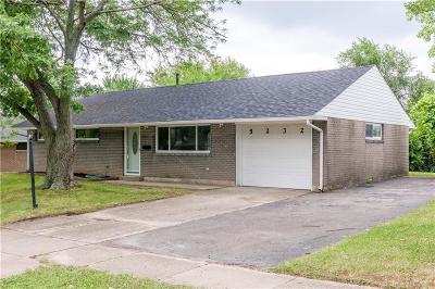 Dayton Single Family Home For Sale: 5232 Fishburg Road