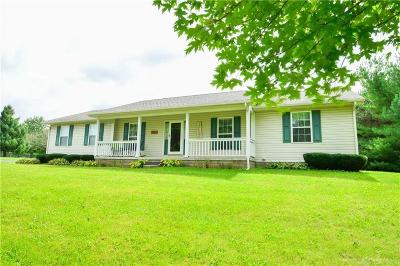 Urbana Single Family Home Active/Pending: 7889 State Route 55