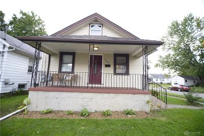 Dayton OH Single Family Home For Sale: $80,000