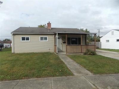 Fairborn Single Family Home For Sale: 504 Florence Avenue