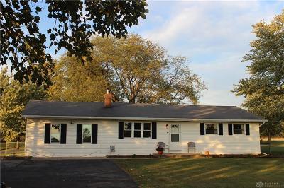 South Charleston Single Family Home Active/Pending: 9900 Plattsburg Road
