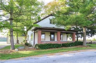 West Milton Single Family Home Active/Pending: 6210 Wheelock Road