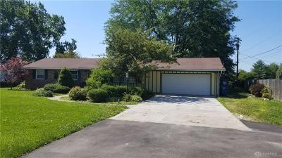 Clayton Single Family Home For Sale: 4632 Wenger Road