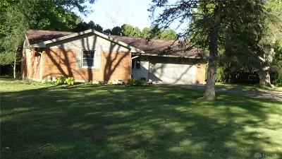 Tipp City Single Family Home For Sale: 6840 Peters Road