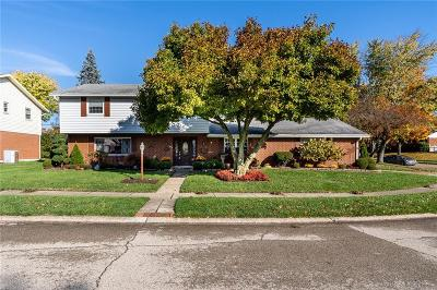 Kettering Single Family Home For Sale: 1109 Carlo Drive