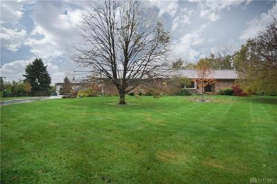 Springboro Single Family Home For Sale: 6024 Weidner Road