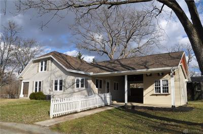 Tipp City Single Family Home For Sale: 1180 Shoop Road