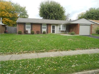 Xenia Single Family Home Active/Pending: 1224 Massachusetts Drive
