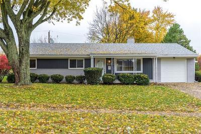 Kettering Single Family Home Active/Pending: 1029 Greenridge Drive