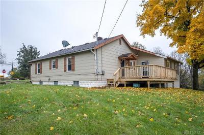 Single Family Home For Sale: 7588 Milton Carlisle Road