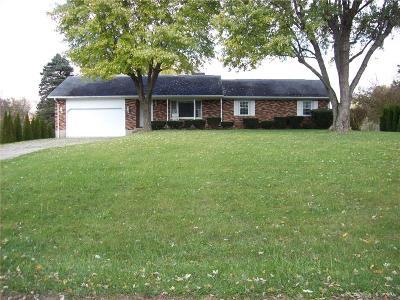 New Carlisle Single Family Home For Sale: 12458 Milton Carlisle Road