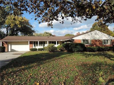 Kettering Single Family Home For Sale: 2015 David Road