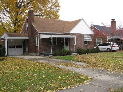 Dayton Single Family Home For Sale: 537 Shadowlawn Avenue