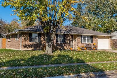 Huber Heights Single Family Home For Sale: 5209 Pitcairn Road