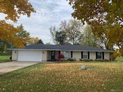 Tipp City Single Family Home For Sale: 5472 Worley Road