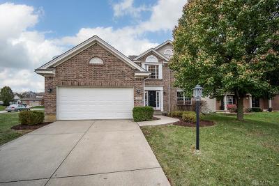 Springboro Single Family Home For Sale: 9048 Highland Circle