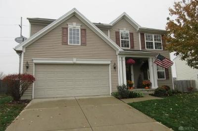 Xenia Single Family Home Active/Pending: 1199 Glen Kegley Drive