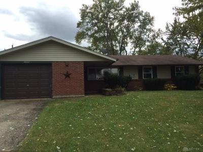 Dayton OH Single Family Home Active/Pending: $54,000