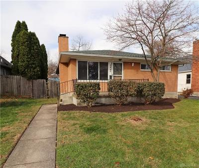 Kettering Single Family Home For Sale: 2633 San Rae Drive