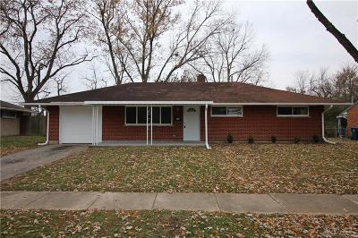 Huber Heights Single Family Home For Sale: 4746 Rittenhouse Drive