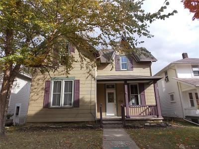 Tipp City Single Family Home For Sale: 230 2nd Street