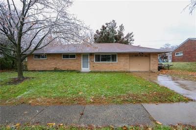 Dayton Single Family Home For Sale: 2313 Bushwick Drive
