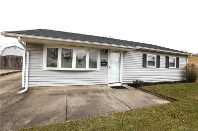 Kettering Single Family Home For Sale: 2482 Midvale Street