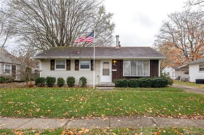 Dayton OH Single Family Home For Sale: $69,900