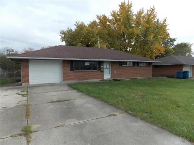 Dayton Single Family Home For Sale: 5710 Brandt Pike