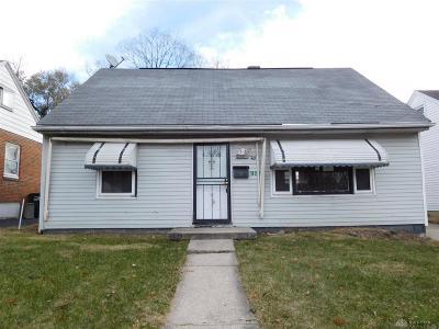 Dayton Single Family Home For Sale: 1940 Victoria Avenue