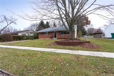 Dayton Single Family Home For Sale: 3632 Tiffany Drive