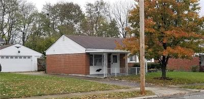 Fairborn OH Single Family Home For Sale: $80,000