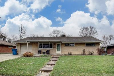 Huber Heights Single Family Home For Sale: 5444 Mangold Drive