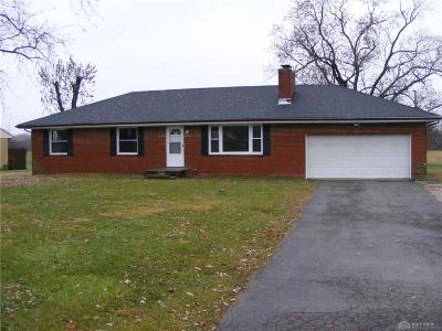Fairborn Single Family Home For Sale: 8044 Dayton Springfield Road