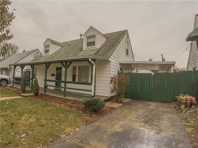 Dayton Single Family Home For Sale: 1738 Brownell Road