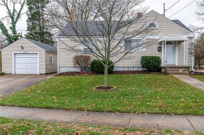 Kettering Single Family Home For Sale: 2970 Delaine Avenue