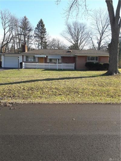 Beavercreek Single Family Home Pending/Show for Backup: 1626 Curlett Drive