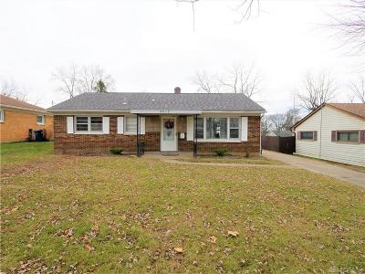 Dayton Single Family Home Active/Pending: 4612 Owens Drive