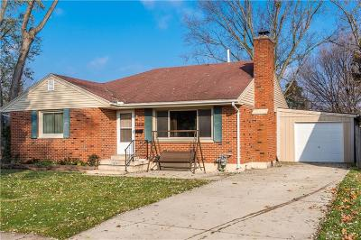 Dayton Single Family Home For Sale: 4535 Varney Avenue