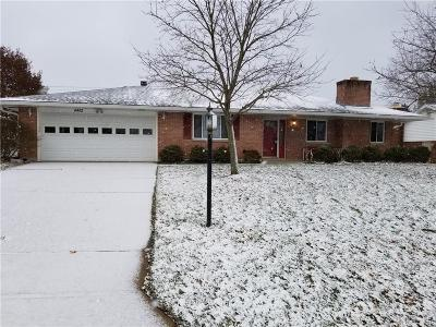 Trotwood Single Family Home Active/Pending: 4482 Berquist Drive