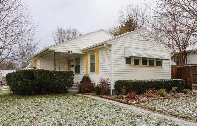 Dayton Single Family Home For Sale: 703 Burkhardt Avenue