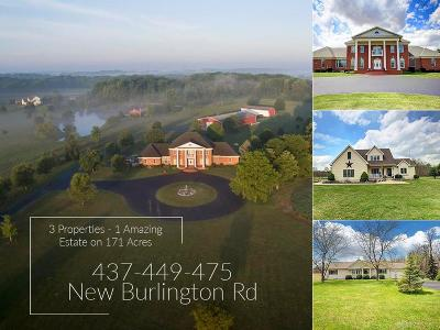 Clinton County Single Family Home For Sale: 475 New Burlington Road