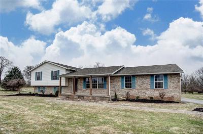 Vandalia Single Family Home For Sale: 11449 Frederick Pike