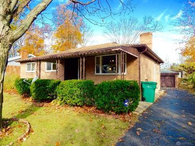 Kettering Single Family Home For Sale: 1207 Tabor Avenue