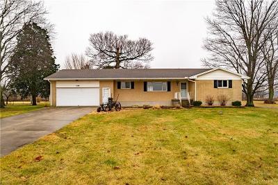 Vandalia Single Family Home For Sale: 1480 Jackson Road