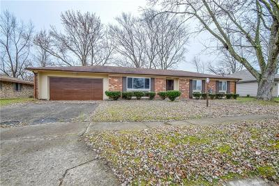 Trotwood Single Family Home For Sale: 712 Chandler Drive